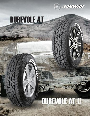 PNEU SUNWIDE - DUREVOLE AT (245/70/R16)